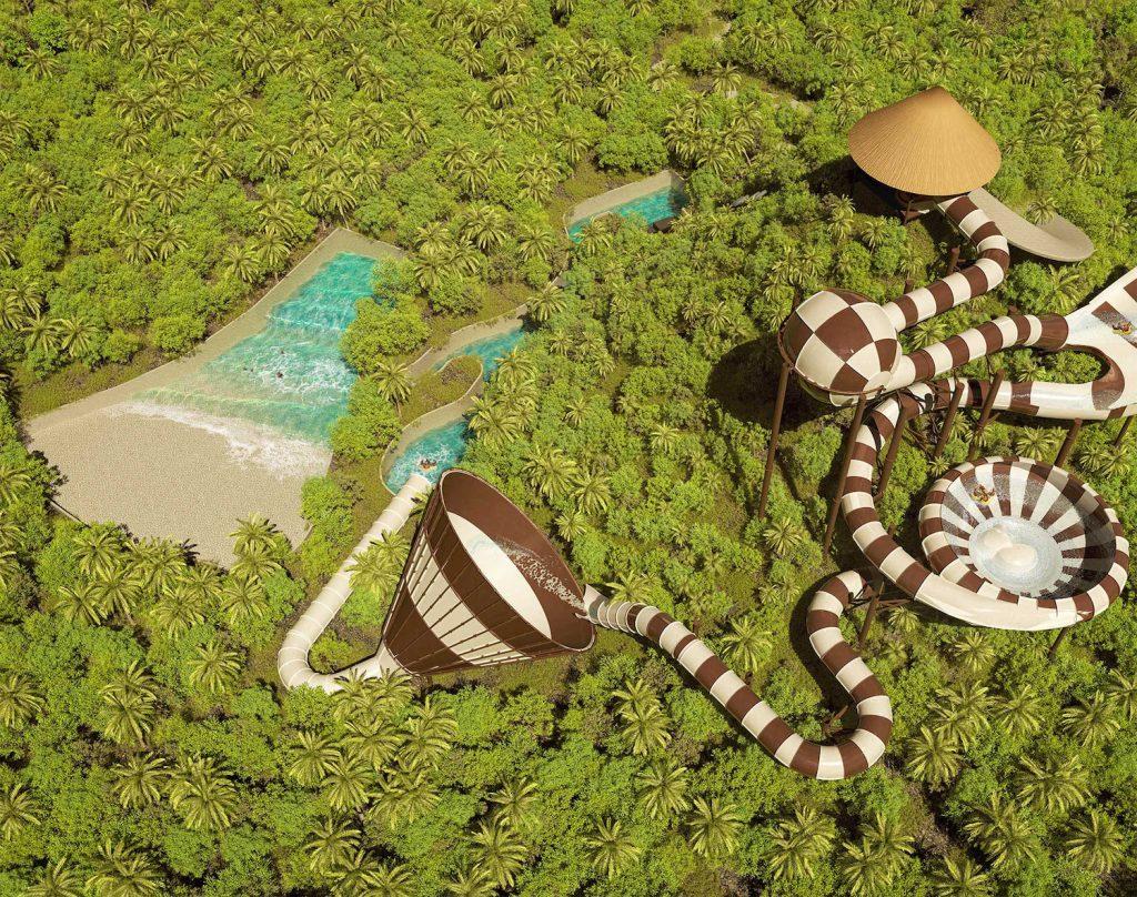 Xplor Togoganxote raft water slide